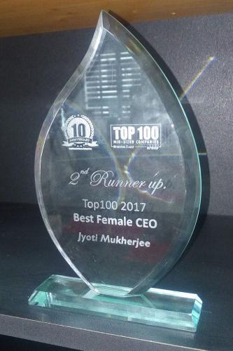 2nd Runner Up for Best Female CEO in Kenya