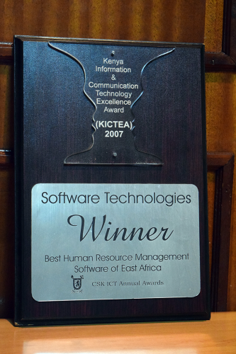 East Africa in the CSK ICT Annual Awards.